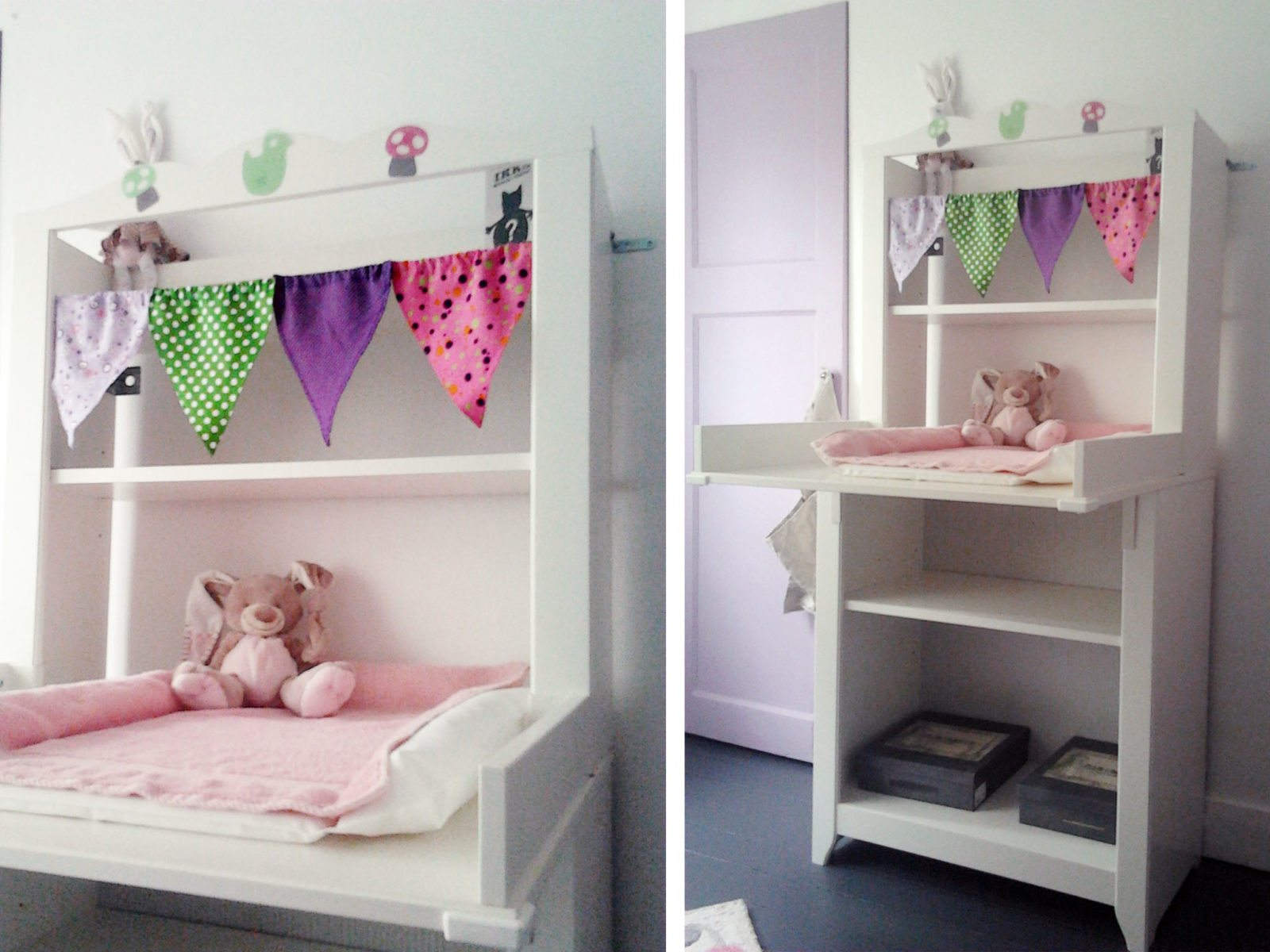 Décoration chambre bébé: la chambre de la petite Valentine - Happy ...