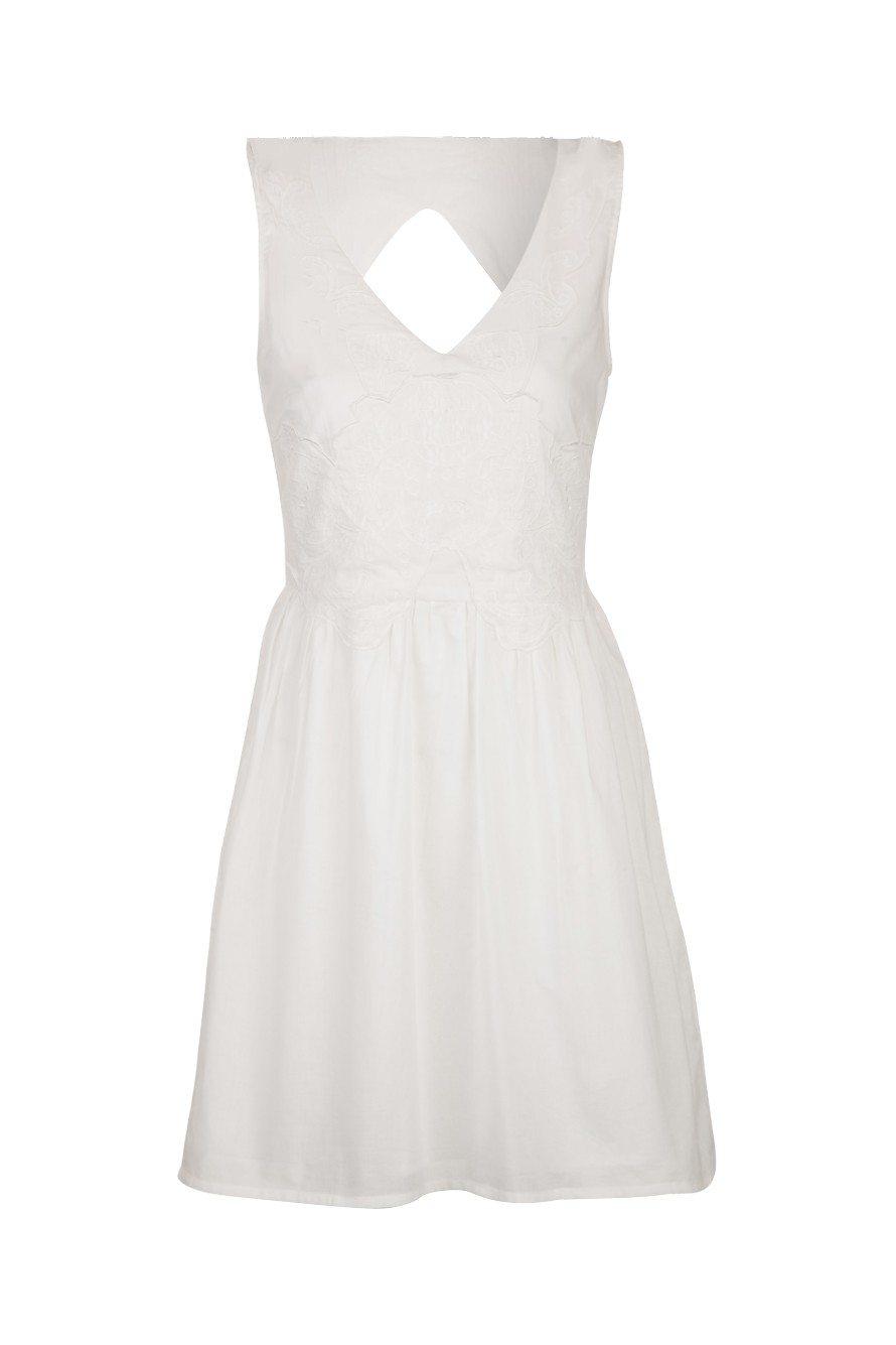 5ccb9a9200900 Backless Dress  Robe Dos Nu Zara Blanche